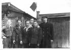 А.Ф. Рар (крайний справа). Новосибирск, 1954