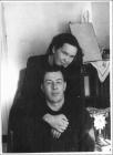 А.Ф. Рар с женой Валентиной Ивановной, Новосибирск, 1966
