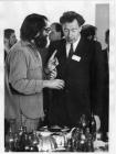 Кофейный перерыв на международной конференции. Новосибирск, 1970-е годы