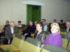 В зале друзья и коллеги юбиляра. На первом плане Л.Л. Змиевская и Л.И. Корнева.